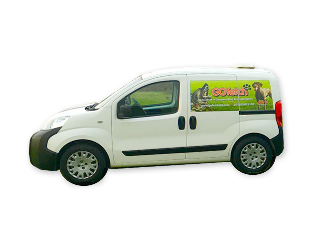 Go Fetch Ltd - Pet transport specialists - our transport